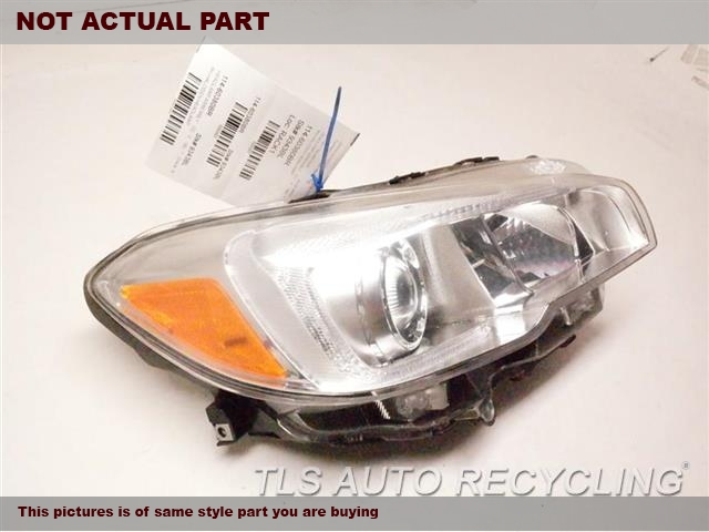 PASSENGER HALOGEN HEADLAMP