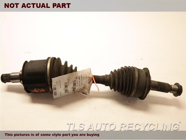 2006 Toyota Sequoia Axle Shaft. RH,FRONT AXLE, INNER, JACKSHAFT