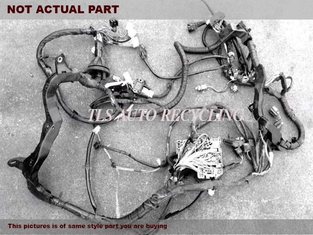 Wire Runner | Used Toyota 4 Runner Engine Wire Harness 2007 82121 35a21 82121
