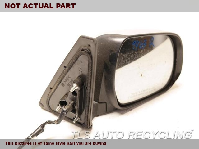 2010 Toyota 4 Runner Side View Mirror. STICKER PEELINGRH,WHT,PM,POWER, PUDDLE LAMP, R.