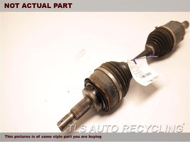 2015 Toyota 4 Runner Axle Shaft. FRONT AXLE, OUTER ASSEMBLY
