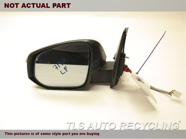 2014 Toyota 4 Runner Side View Mirror. 87940-35B70SILVER DRIVER SIDE VIEW MIRROR