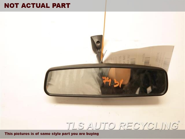 2011 Toyota Camry Rear View Mirror Interior. 87810-06080BLACK INTERIOR REAR VIEW MIRROR