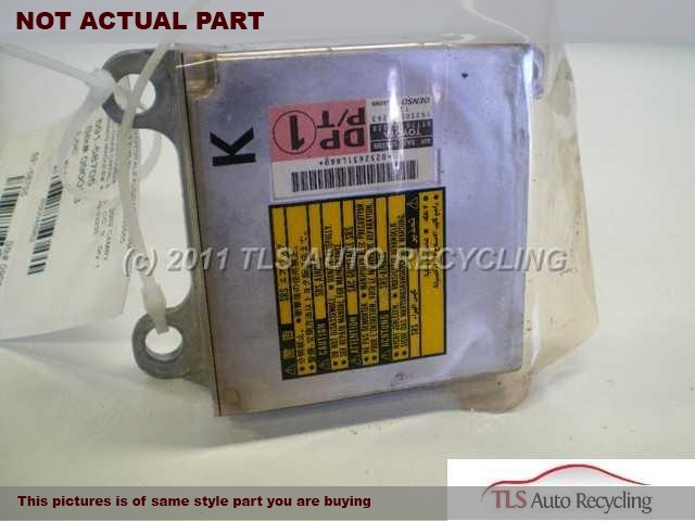 2003 Toyota Camry Chassis Cont Mod. 89170-06180 AIR BAG CONTROL