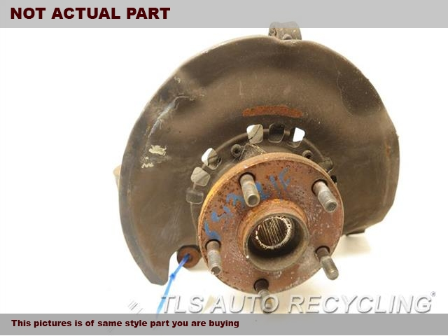 2003 Toyota Camry Spindle Knuckle, Fr. 43212-06160  43502-06030DRIVER FRONT KNUCKLE W/HUB
