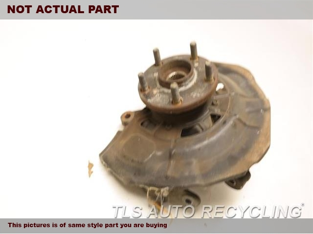 2010 Lexus ES 350 Spindle Knuckle, Fr. LH