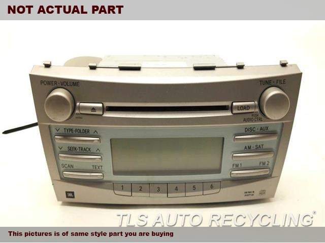 toyota camry radio 28 images 2007 toyota camry solara. Black Bedroom Furniture Sets. Home Design Ideas