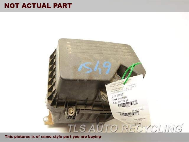 2011 Toyota Camry Air Cleaner. AIR CLEANER BOX 17700-0H103