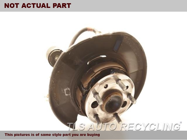 2010 Lexus ES 350 rear nuckle / stub axle. LH