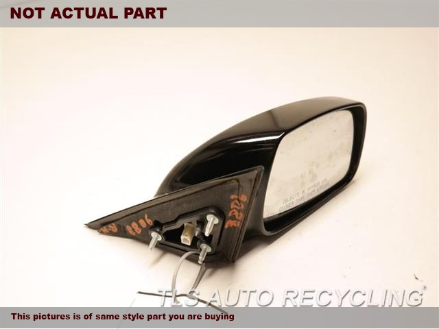 2011 Toyota Camry Side View Mirror. RH,BLK,PM,POWER, NON-HEATED, R