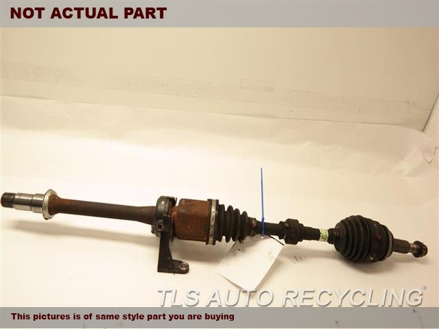 2010 Toyota Camry Axle Shaft.  43410-06690PASSENGER FRONT AXLE SHAFT
