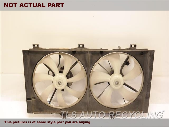 2010 Toyota Camry Rad Cond Fan Assy. RADIATOR FAN ASSEMBLY 16711-0V010