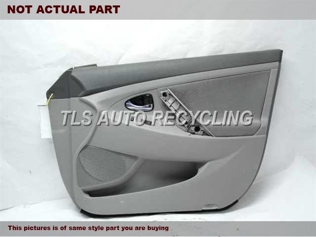 2011 Toyota Camry Trim Panel, Fr Dr. 67620-06B30-B0GRAY DRIVER FRONT DOOR TRIM PANEL