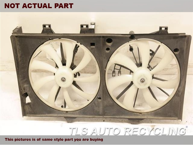 2016 Toyota Camry Rad Cond Fan Assy. FAN ASSEMBLY, VIN F (5TH DIGIT)