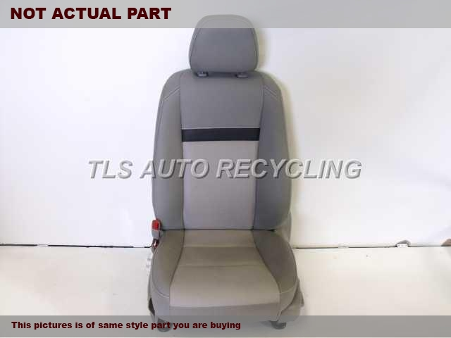 2015 Toyota Camry Seat, Front. LH,BLK,CLO,BUC,(BUCKET), (AIR BAG)