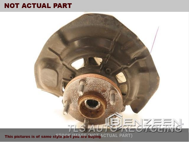 2007 Toyota Camry Spindle Knuckle, Fr. RH,R., VIN E (5TH DIGIT), (4 CYLIND