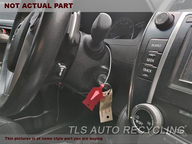 2014 Toyota Camry Steering Column.  FLOOR SHIFT, LE, CONVENTIONAL IGNI