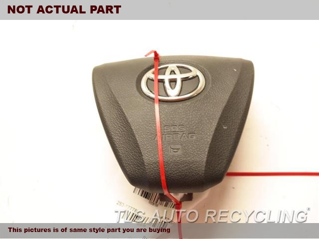 2015 Toyota Camry Air Bag. LH,BLK,FRONT, DRIVER, WHEEL