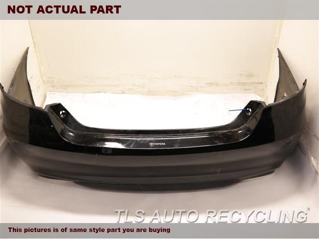 2015 toyota camry bumper cover rear car parts tls auto. Black Bedroom Furniture Sets. Home Design Ideas