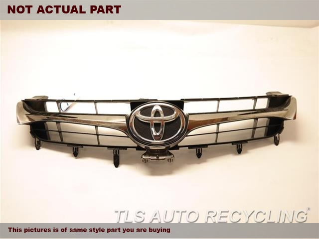 2016 Toyota Camry Grille. CHROME,UPPER, VIN F 5TH DIGIT,