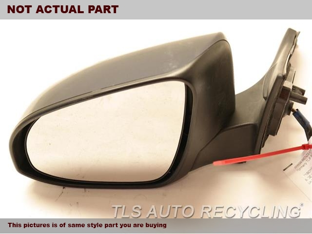 2015 Toyota Camry Side View Mirror. LH,BLK,PM,POWER,(HEATED), W/O BLIND