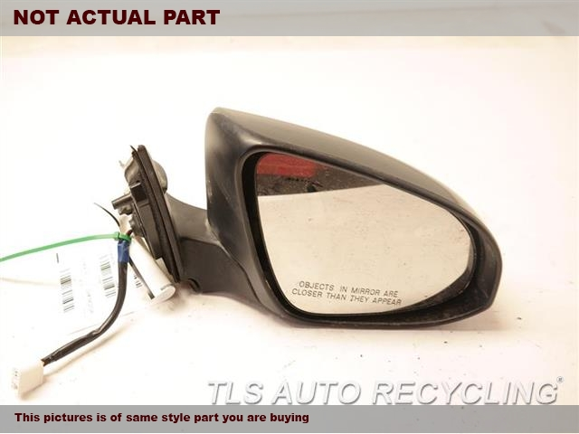 2017 Toyota Camry Side View Mirror 87901 06040 87902 06020white