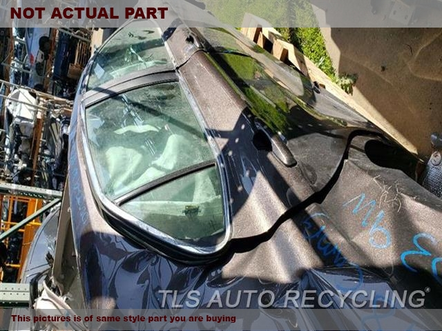 2018 Toyota Camry Door Assembly, Rear side. SCRATCHES5S3,RH,BLK,PW,PL,(ELECTRIC WINDOWS)