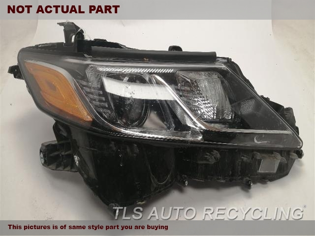 2019 Toyota Camry Headlamp Assembly. ONE DAMAGE UPPER TAB, HOUSING HAS SMALL CRACK, LENS LOOSE INSIDERH,BI-LED AMBER DAYTIME RUNNING, NIQ