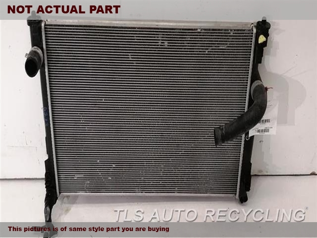 2018 Toyota Camry Radiator. 2.5L, A25AFKS ENGINE