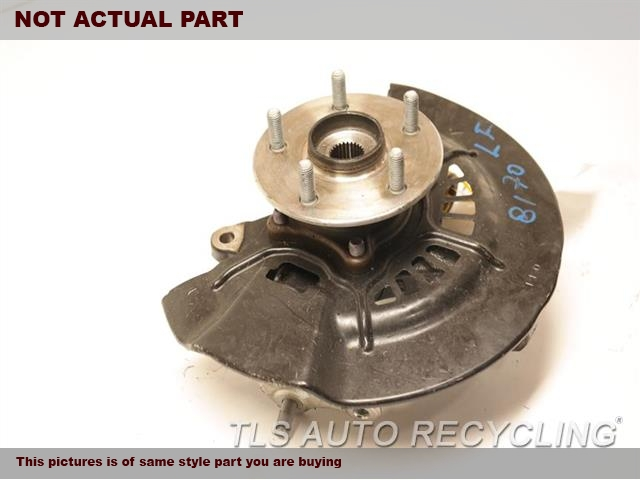 2018 Toyota Camry Spindle Knuckle, Fr. LH,XSE, L.