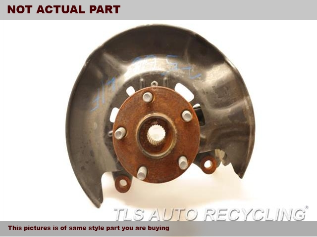 2017 Toyota Corolla Spindle Knuckle, Fr. LH,(SDN), L.