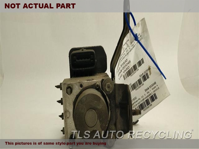 2010 Toyota Corolla Abs Pump. 1.8L,ACTUATOR AND PUMP ASSEMBLY, VE