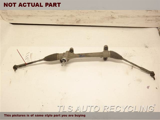 2010 Toyota Corolla Steering Gear Rack. 1.8L,POWER RACK AND PINION, EXC. XR