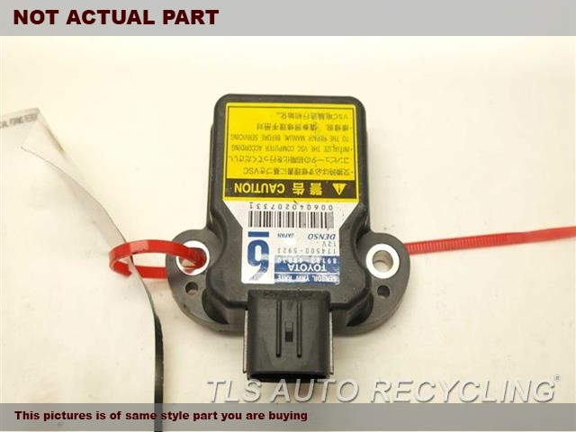2013 Toyota Corolla Chassis Cont Mod. 89183-48030 YAW RATE SENSOR