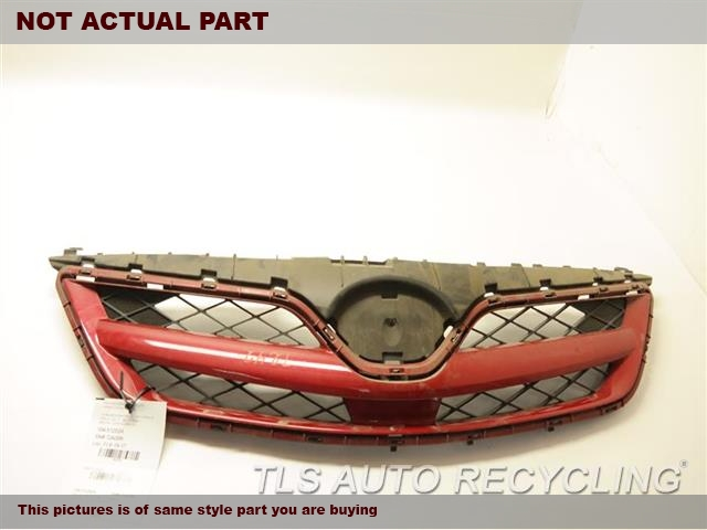2013 Toyota Corolla Grille. BLACK GRILLE 53100-02410-C0