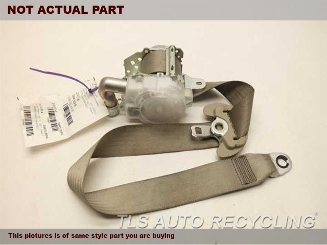 2012 Toyota Corolla Seat Belt front. 73220-02290-B1GRAY DRIVER FRONT SEAT BELT