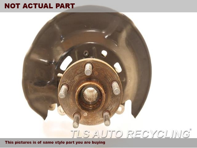 2014 Toyota Corolla Spindle Knuckle, Fr. 43211-02220 43502-02080PASSENGER FRONT KNUCKLE W/HUB