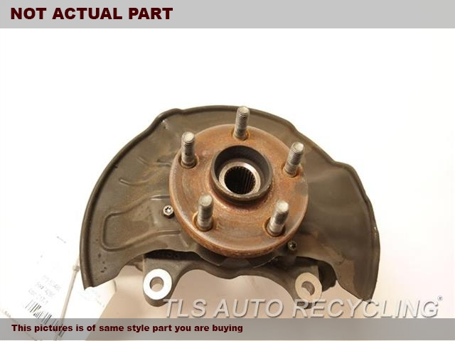 2013 Toyota Corolla Spindle Knuckle, Fr.  43212-02220 43502-02080DRIVER FRONT KNUCKLE W/HUB