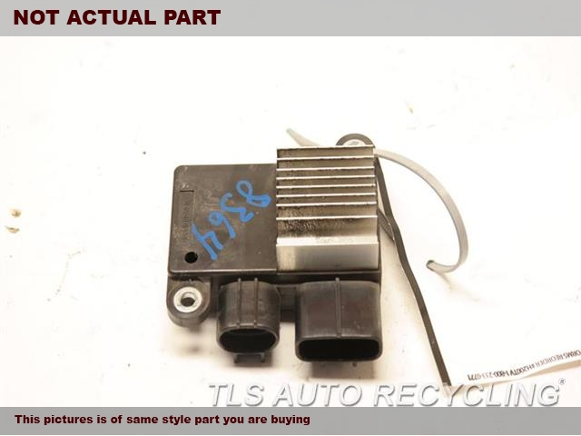 2014 Toyota Corolla Chassis Cont Mod. 89257-12010 COOLING FAN COMPUTER