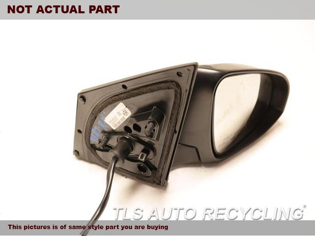 2015 Toyota Corolla Side View Mirror. MISSING COVERRH,GRAY,PM,POWER, HEATED, TURN SIGN