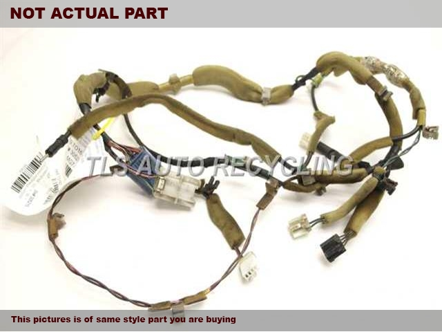 used toyota fj cruiser dash wire harness 2007 82142. Black Bedroom Furniture Sets. Home Design Ideas