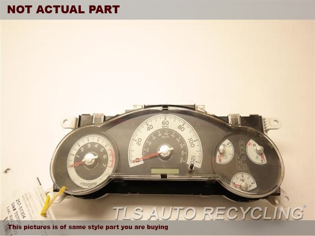 2007 Toyota FJ Cruiser Speedo Head/Cluster. (CLUSTER ONLY), 4X4, MPH, AT