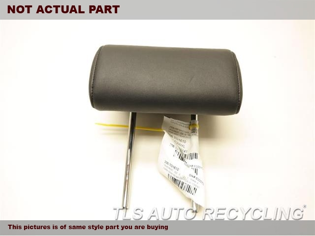 DARK GRAY FRONT LEATHER HEADREST