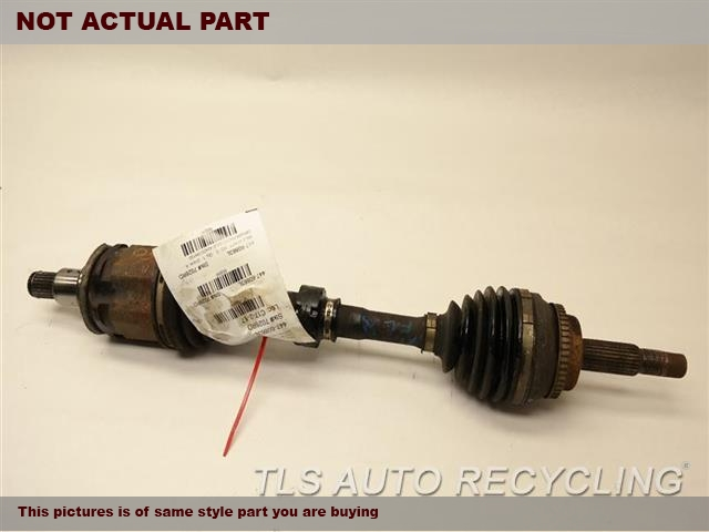 2003 Toyota Highlander Axle Shaft. DRIVER FRONT AXLE 43420-0W190