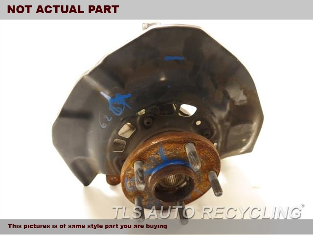 2008 Lexus RX 400 Spindle Knuckle, Fr. LH