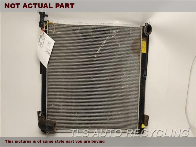 2008 Lexus RX 400 Radiator. ENGINE (GASOLINE)