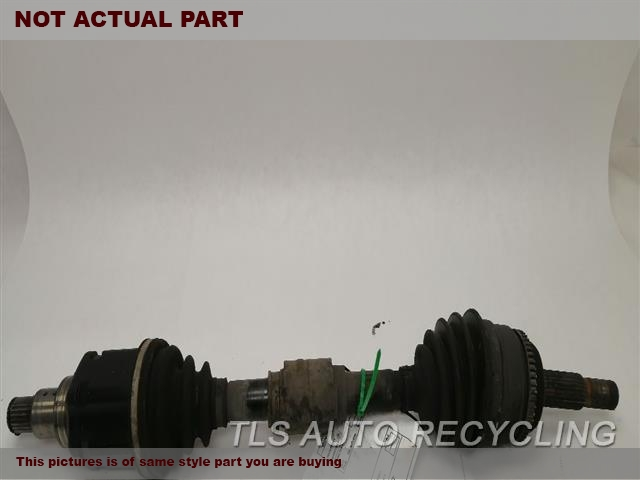 DRIVER FRONT CV AXLE SHAFT