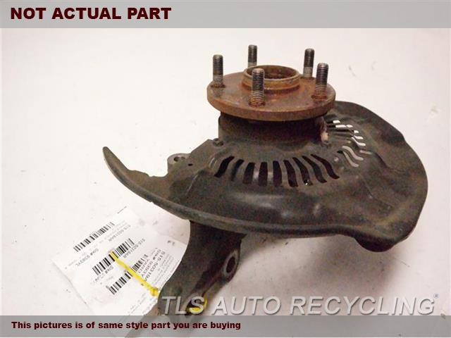 2008 Toyota Highlander Spindle Knuckle, Fr  PASSENGER FRONT KNUCKLE W/HUB