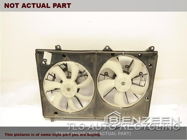FAN ASSEMBLY, 3.5L, VIN K