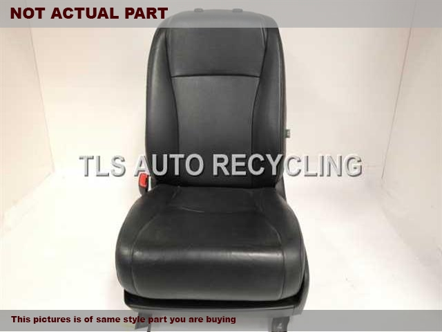 2012 Toyota Highlander Seat, Front. 71200-0E150-C1TAN DRIVER FRONT LEATHER SEAT